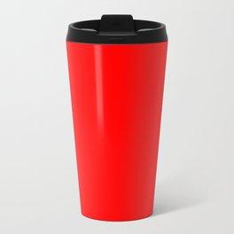 Red Devil Creepy Hollow Halloween Travel Mug