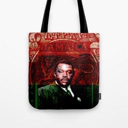 Marcus Garvey Black Nationalist Design Merchandise Tote Bag