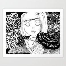 Annabeth Art Print