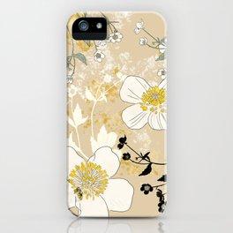 Ranunculus Big Size iPhone Case