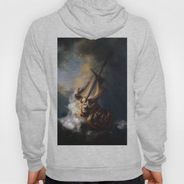 Rembrandt's The Storm on the Sea of Galilee Hoody