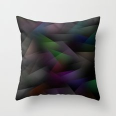 Abstract Geometric Shapes 1 Throw Pillow