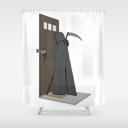 Dead Ringer Shower Curtain
