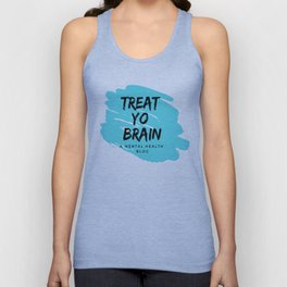 Treat Yo Brain Logo Unisex Tank Top