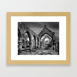 Thomas aBeckett Ruins, Heptonstall Framed Art Print