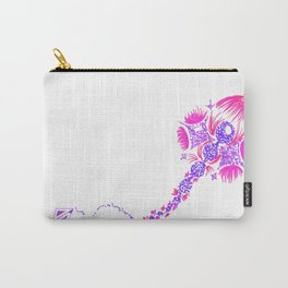 Abstract kite - Pink and purple Carry-All Pouch