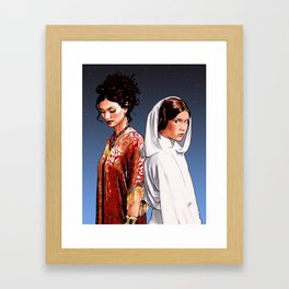 The Princess and The Companion Framed Art Print
