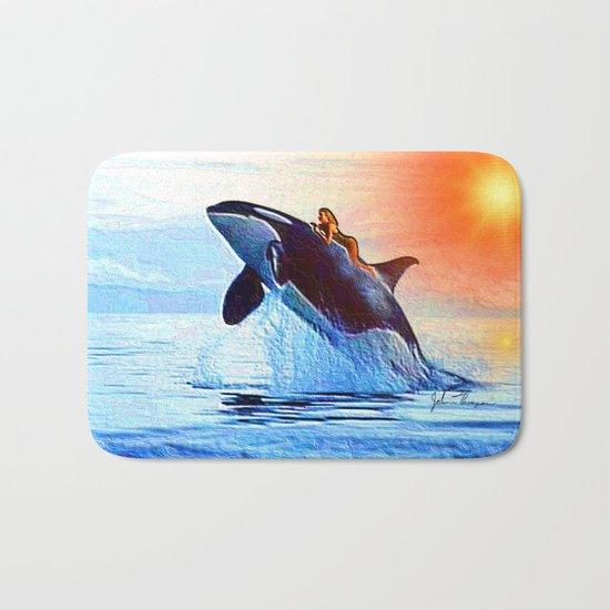 Orca Queen Bath Mat