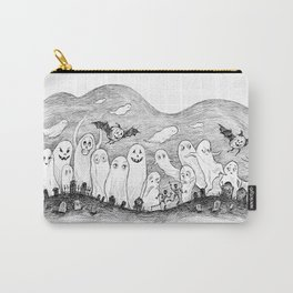 Halloween Ghosts Carry-All Pouch