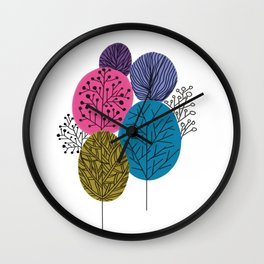 Forest Tree Wall Clock