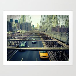 New York, New York  #2 Art Print