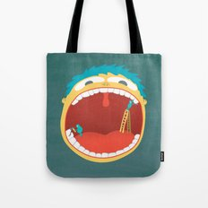 Oh, They're Teeth People! Tote Bag
