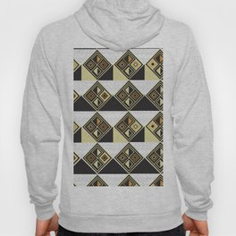 African Tribal Pattern No. 89 Hoody