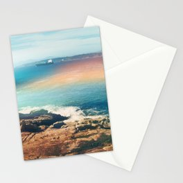 Colours of the sea Stationery Cards