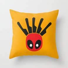 The Merc With A Mouth Alternative art Throw Pillow