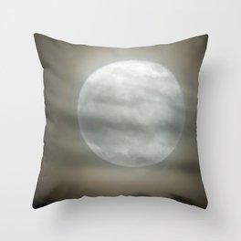 The Moon by Murray Bole Throw Pillow