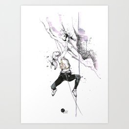 Lozen Girl Art Print