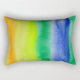Abstract No. 344 Rectangular Pillow