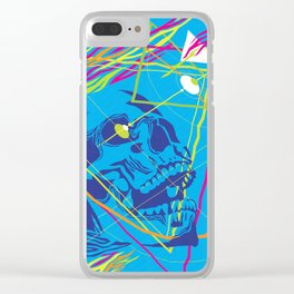 Graphic Still Life with Skull 02 Clear iPhone Case