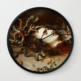 MEDUSA - PETER PAUL REUBENS  Wall Clock
