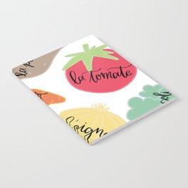 Les Legumes Notebook