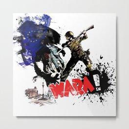 Poland Wara! Metal Print