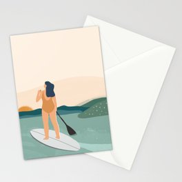Paddle Out Stationery Cards