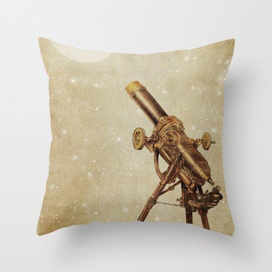 Moonrise (sepia option) Throw Pillow