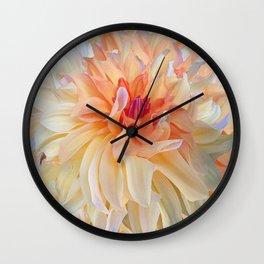 Dancing Dahlia Wall Clock