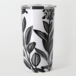Sage Botanical Illustration Travel Mug