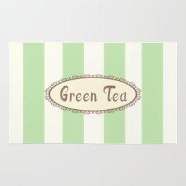 Green Tea Antique Rug
