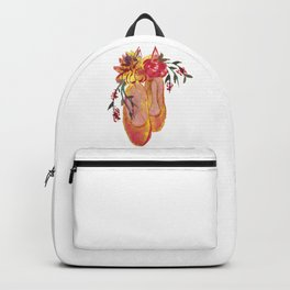 Ballerinas watercolor art! Backpack
