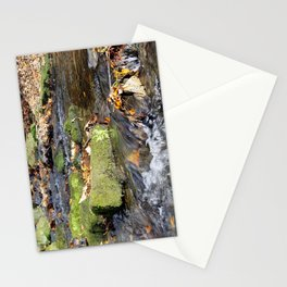 Lumsdale stream Stationery Cards