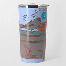 Retro Music Travel Mug