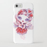 valentina iPhone & iPod Cases featuring Valentina by Sandra Vargas
