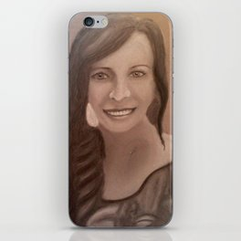 Once upon a Portrait iPhone Skin