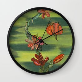 """Tamarillo"" by ICA PAVON Wall Clock"