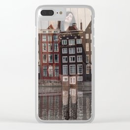 Lisa Marie Basile, No. 76 Clear iPhone Case