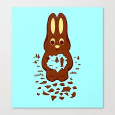 Chocolate Hunting Canvas Print