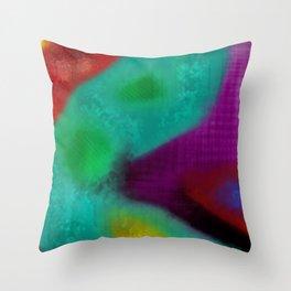 alucinogeno Throw Pillow