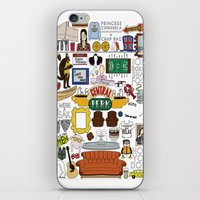 collage iPhone & iPod Skins featuring Collage by Loverly Prints