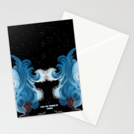 Fuck The tyranny of Chance Stationery Cards