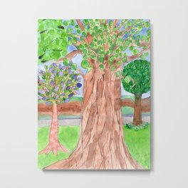 The majestic Tree Metal Print