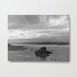 Floating Castle Metal Print