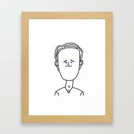 Tranuel Escondido Framed Art Print