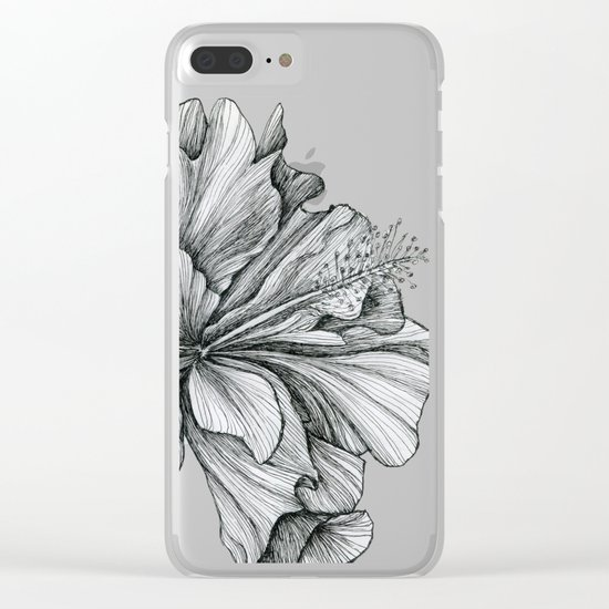 flor Clear iPhone Case