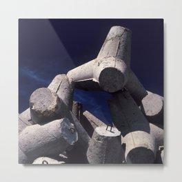 Concrete port attachment Metal Print
