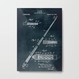 1917 - Billiard cue Metal Print