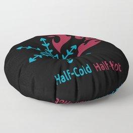 Half-Cold Half-Hot V2 Floor Pillow