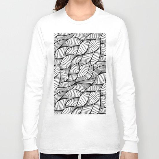 Thread monochrome Long Sleeve T-shirt